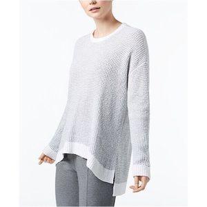 Eileen Fisher Organic Cotton Ombré Hi Low Sweater